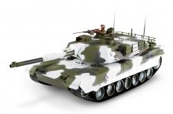 1:16 M1A1 Abrams RC tank 27MHz - zimní verze