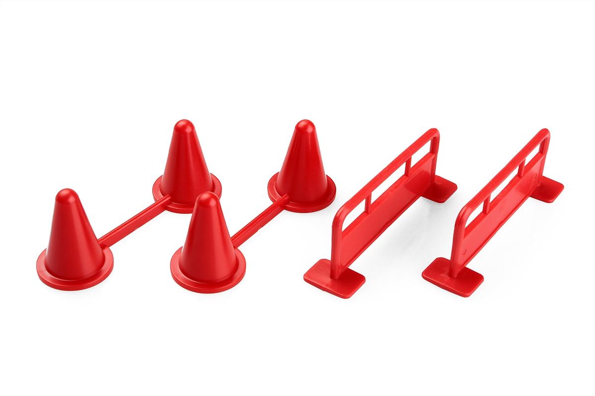 Náhľad produktu - Zábradlie s kužeľmi pre autožeriav