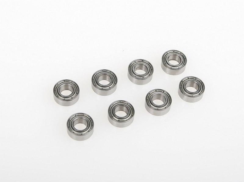 Kuličkové ložisko 5x10x4 mm (8 ks)