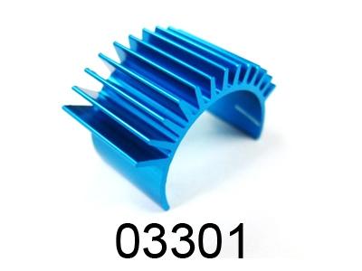 Náhľad produktu - Alu chladič motoru pro 1/16 model, 1ks.