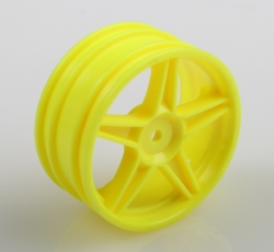Yellow disks - buggy, front, 2 pcs.