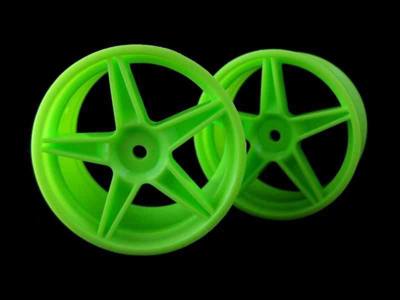 Disky zelené - Buggy, zadní, 2 ks.