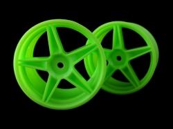 Disk zelené, buggy, zadní 2ks