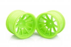 Rims - 1:10 Monster, 2 pieces (green)