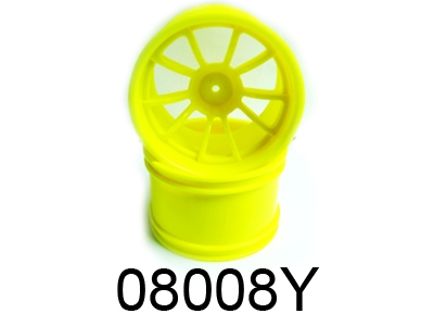 Náhľad produktu - Disky – 1:10 Monster, 2ks, (žlté)