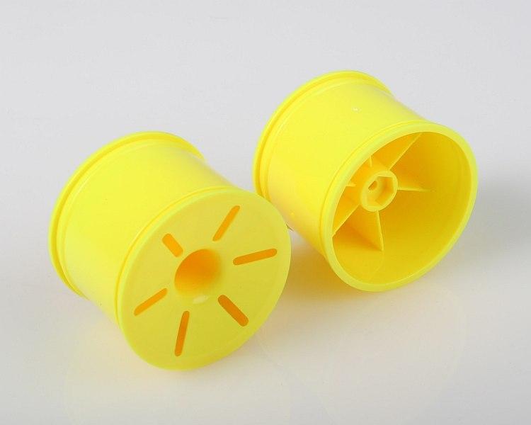 Náhľad produktu - Disky, 1:10 TRUGGY, žlté, 2 ks