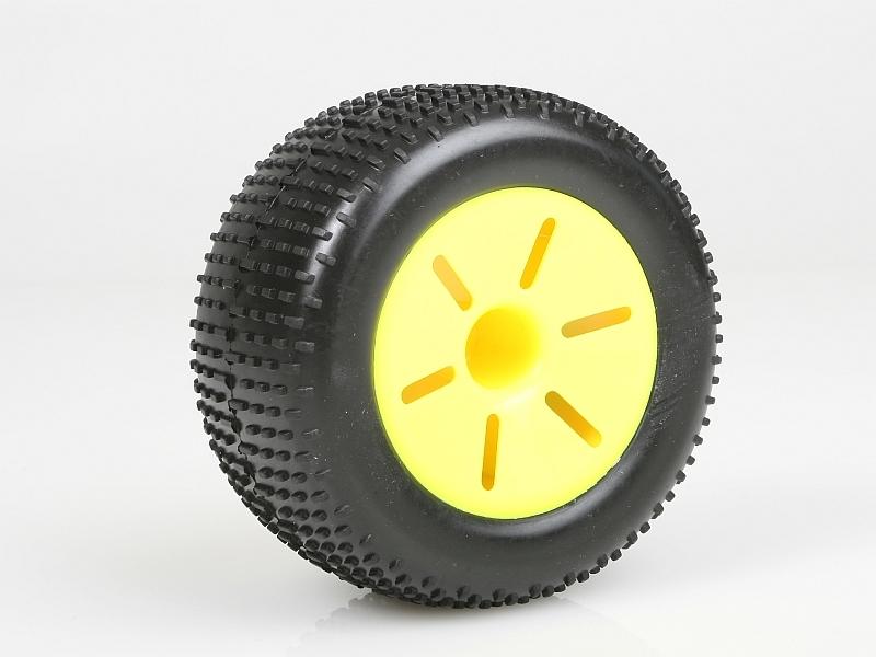 Produkt anzeigen - Radsatz, Truggy (gelb, 2 Stück)