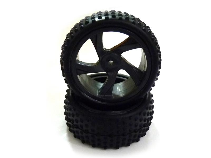 Náhľad produktu - Kompletné kolesá - Buggy, Short Course 1:18 (2 ks)