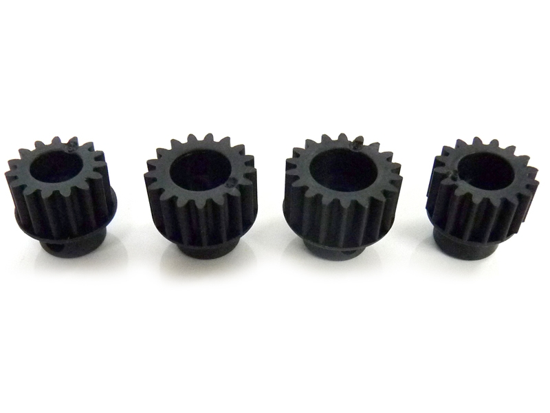 Náhľad produktu - Pastorek 15, 16, 17, 18 zubů (modul 0,8)