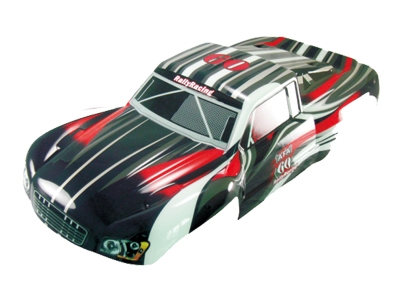 Náhľad produktu - Karoséria Short Course truck 1:5 čierno-červená