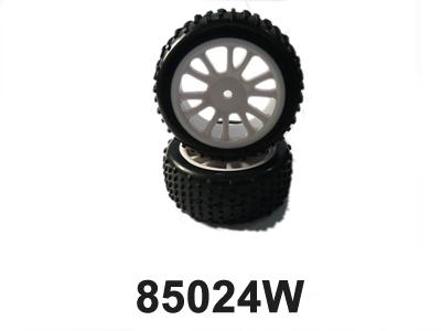 Náhľad produktu - Zadné gumy na bielych diskoch 2ks.