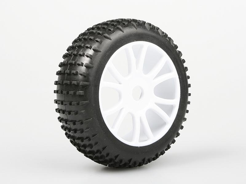 Náhľad produktu - Nalepené gumy na bílých diskách (2ks.) - HIMOTO