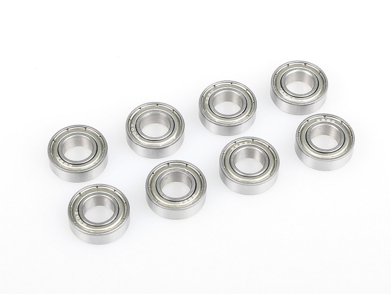 Náhľad produktu - Guľkové ložisko 8x16x5 mm (8 ks)
