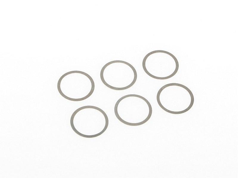 Náhľad produktu - Vymezovací podložka dif. 16x13,1x0,3mm 6ks