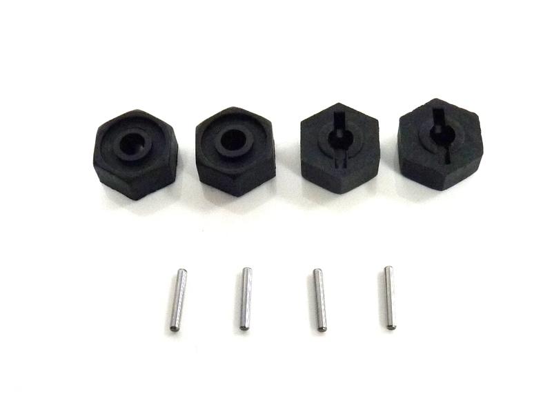 Náhľad produktu - Unašeče kol včetně čepů 1,5x10mm, 4ks.