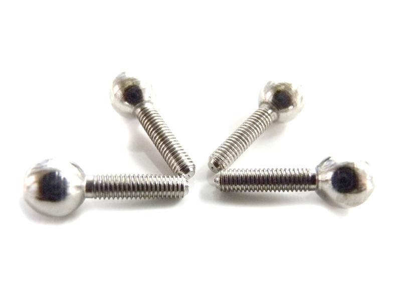 Náhľad produktu - Kulička kloubku s dříkem M3 (4 ks)