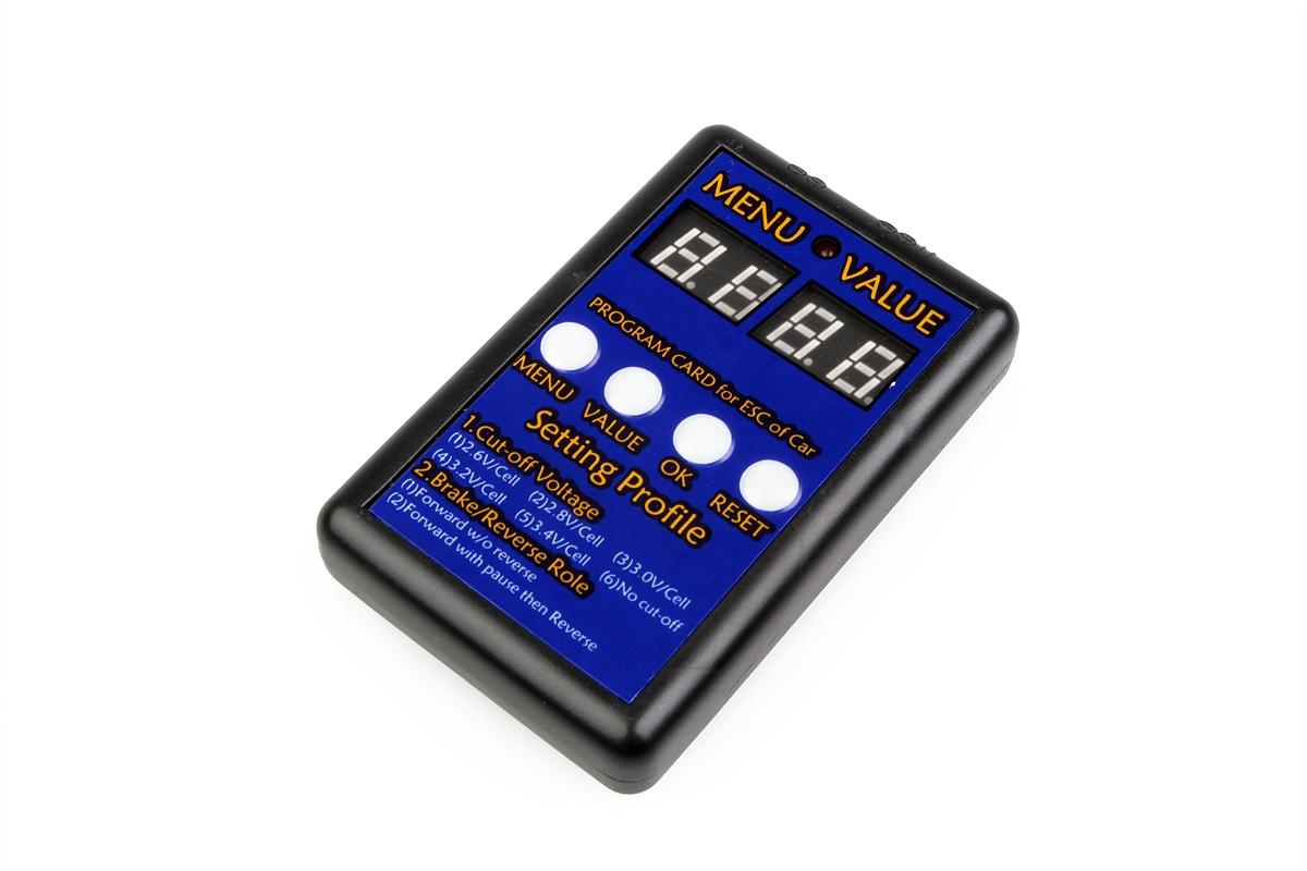 Náhľad produktu - Programovacia karta pre 80A CAR ESC - HIMOTO