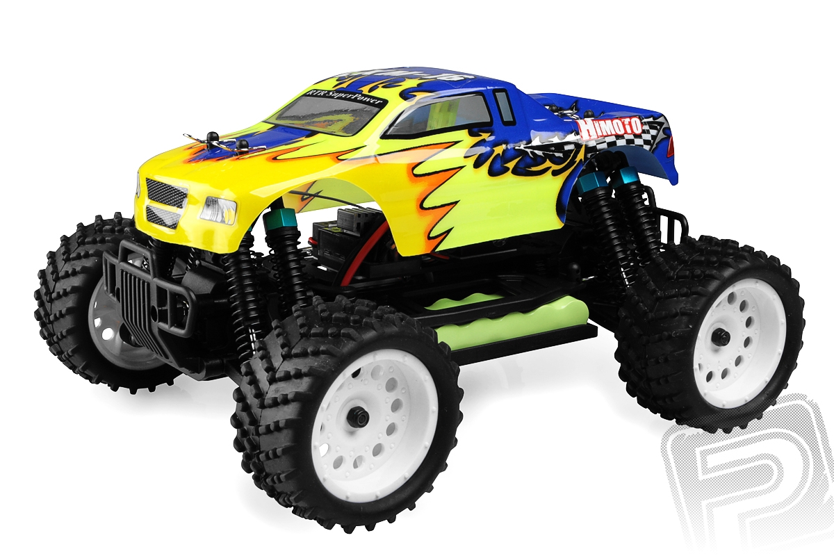Himoto Monster Truck 1/16 RTR 2,4GHz - modrá