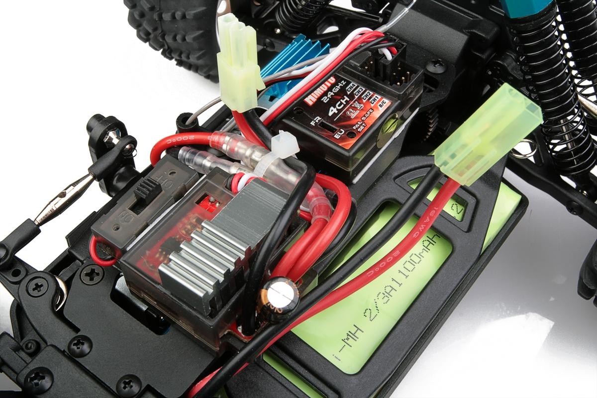 Himoto Monster Truck 1/16 RTR 2,4GHz - červená