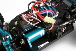 1:16 HIMOTO Truggy RTR 2,4 GHz Brushless (červená)
