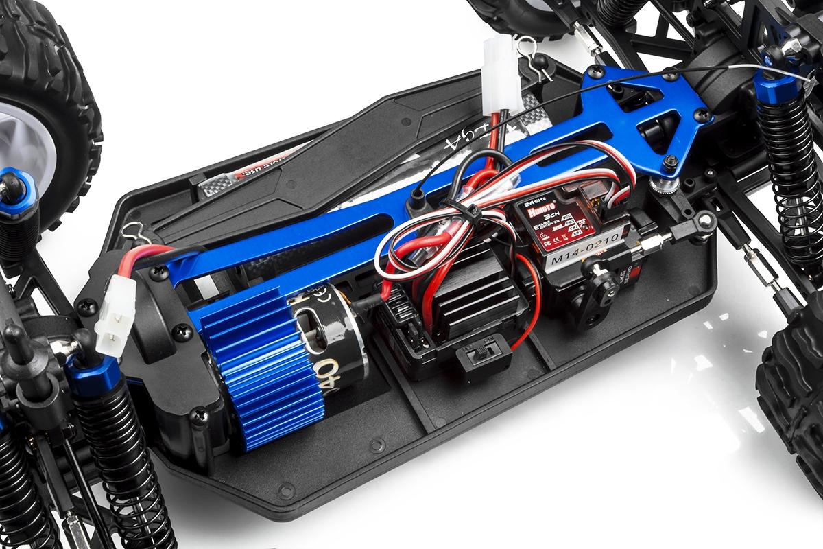 HiMOTO Monster Truck EMXT-1 1:10 elektro RTR set 2,4GHz červená