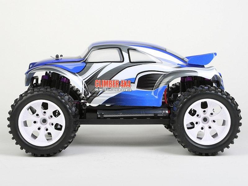 HiMOTO Beetle Truck 1:10 elektro RTR set 2,4GHz modrá