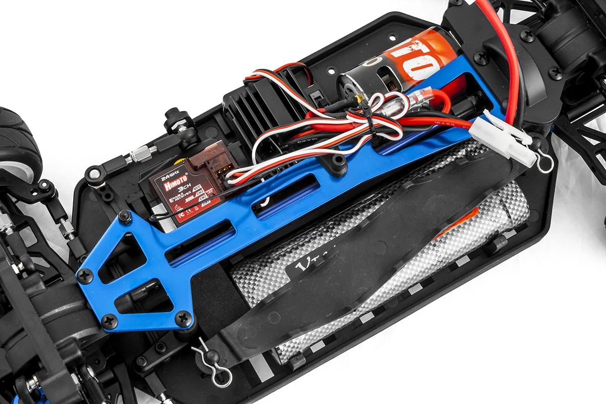 HIMOTO NASCADA 1:10 elektro RTR 2,4GHz červená