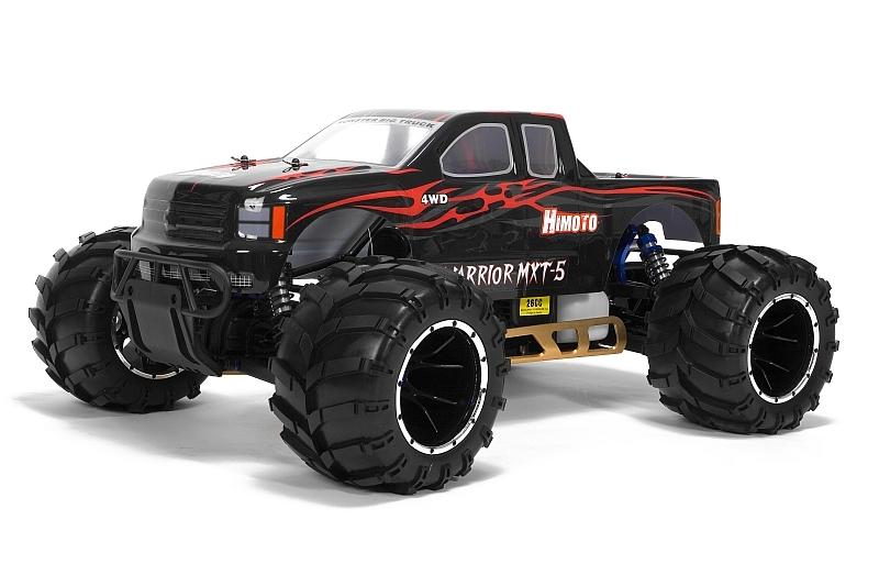 Náhľad produktu - 1:5 HIMOTO MEGAP Monster Truck 26ccm 2,4GHz (čierna)