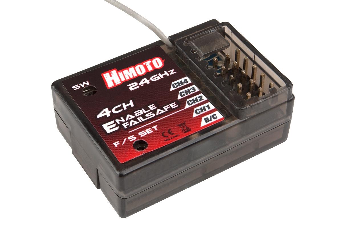 Náhľad produktu - Himoto - 4 kanálový 2,4GHz přijímač