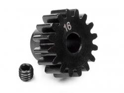 Náhľad produktu - Pastorek 16 zubů (modul 1M) pro 5mm hřídel