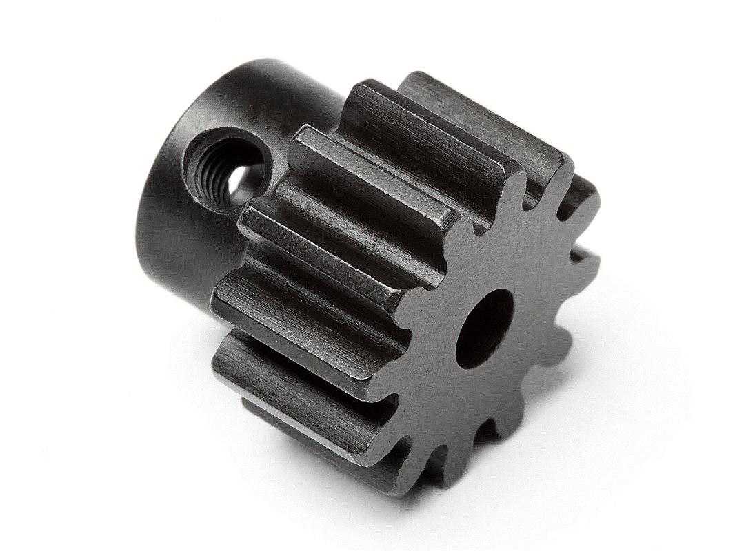 Náhľad produktu - Pastorek 12 zubů (modul 1M) pro 3mm hřídel