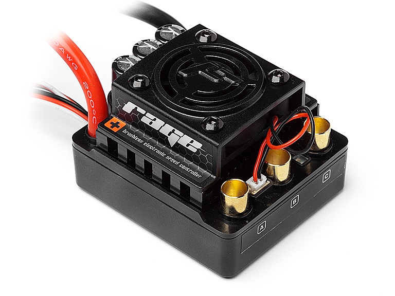 Náhľad produktu - FLUX Rage 80A Brushless programovateľný regulátor otáčok 1:8