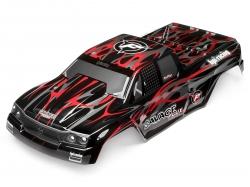 Náhľad produktu - Karoserie lakovaná Savage Flux HP GT-2 (černo/šedo/červená)