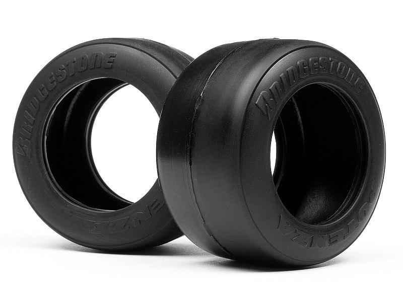 Náhľad produktu - Pneumatiky Bridgestone FT01 slick M směs (zadní)