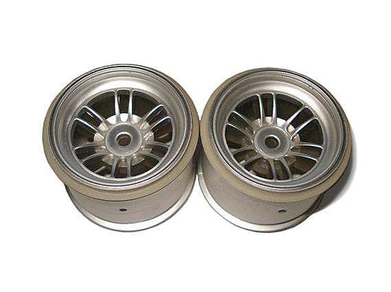 Náhľad produktu - Disk kola, FT01 (stříbrné/přední/2ks)