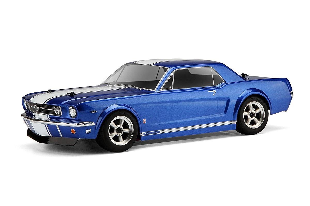 Náhľad produktu - Karoséria číra Ford Mustang1966 GT Coupe (200 mm)