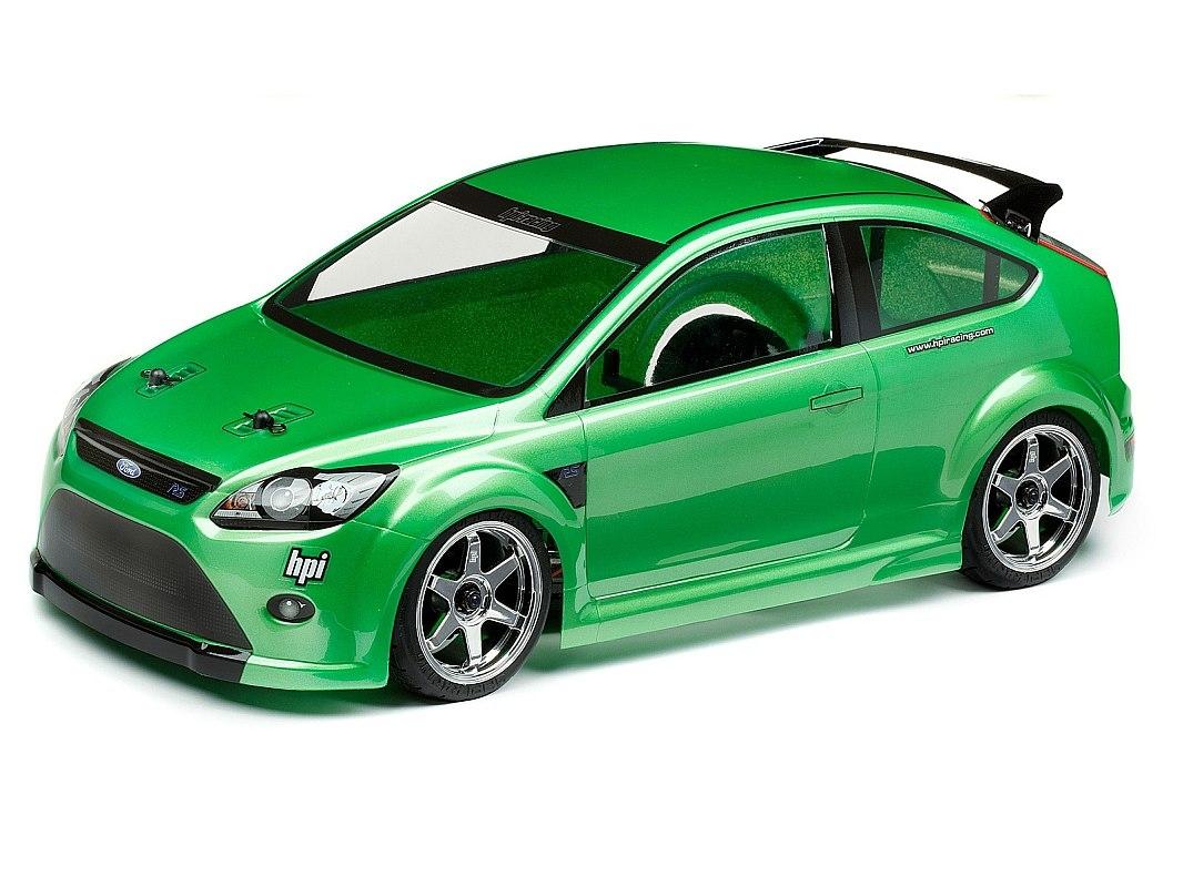 Náhľad produktu - Karoséria číra Ford Focus RS (200 mm)