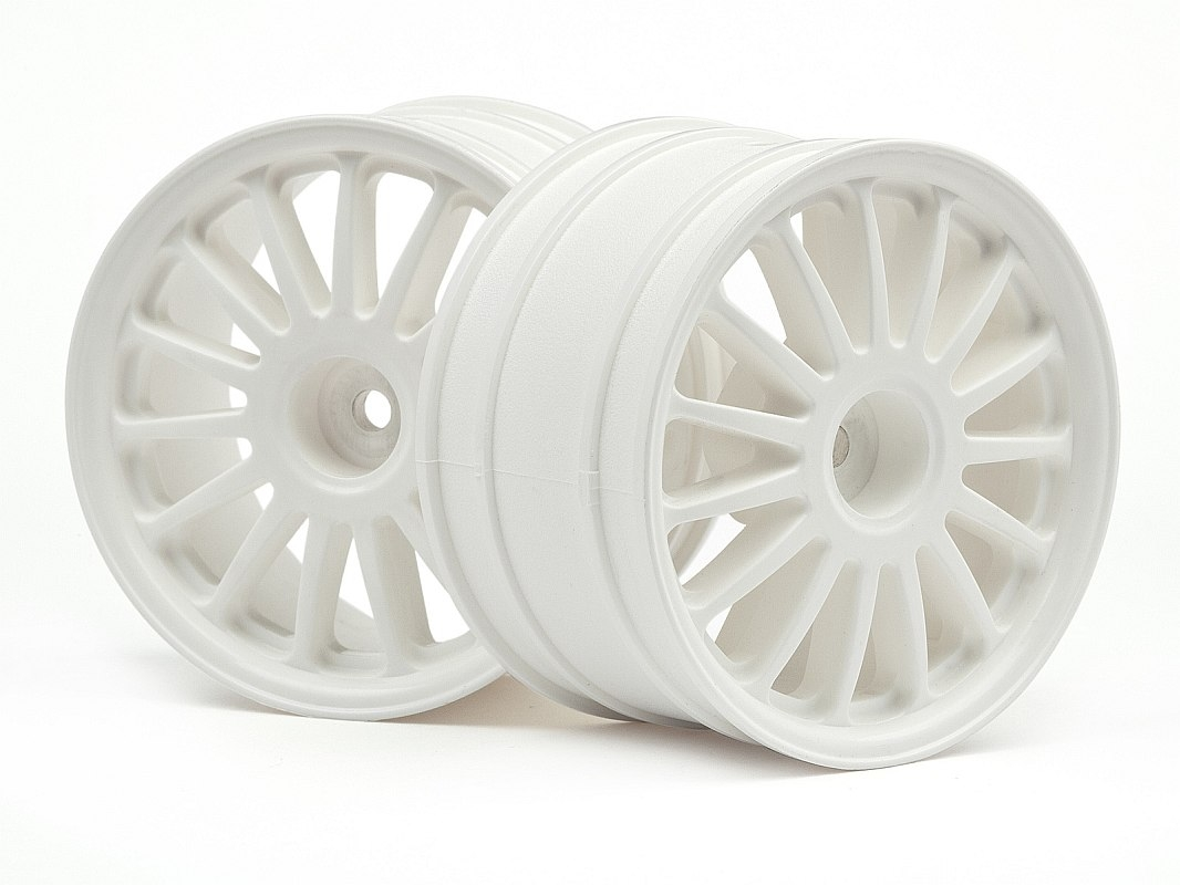 Náhľad produktu - WR8 Tarmac biele disky, 2 ks