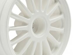 WR8 Tarmac biele disky, 2 ks