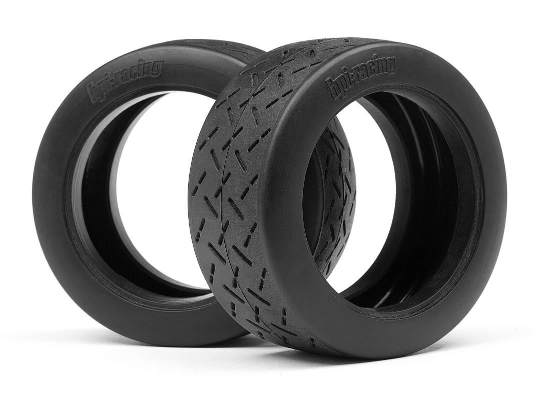 Náhľad produktu - WR8 Tarmac gumy, D zmes (57 x 80 mm / 2 ks)