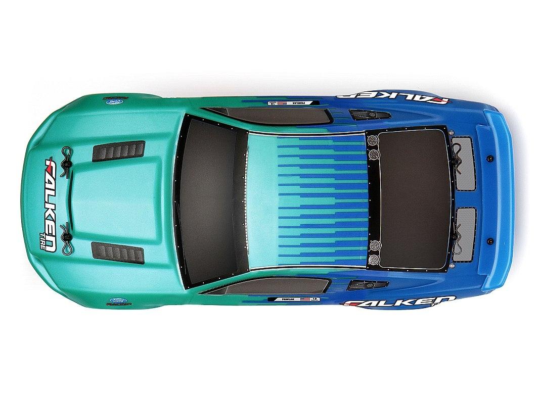 Micro RS4 Ford Mustang RTR s 2,4GHz RC soupravou, kar. Justin Pawlak