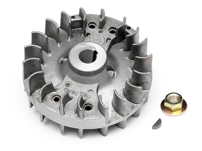 Náhľad produktu - Magneto zotrvačník s vetrákom FUELIE 23 ENGINE