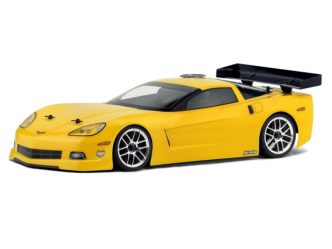 Náhľad produktu - Karoséria číra Chevrolet Corvette C6 (200 mm/rázvor 255 mm)