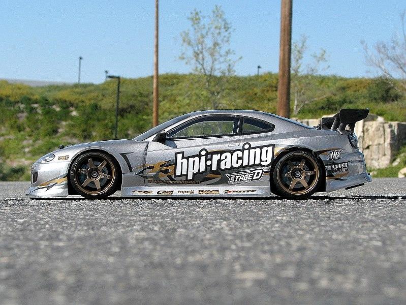 Náhľad produktu - Karoséria číra Nissan Silvia (200 mm)