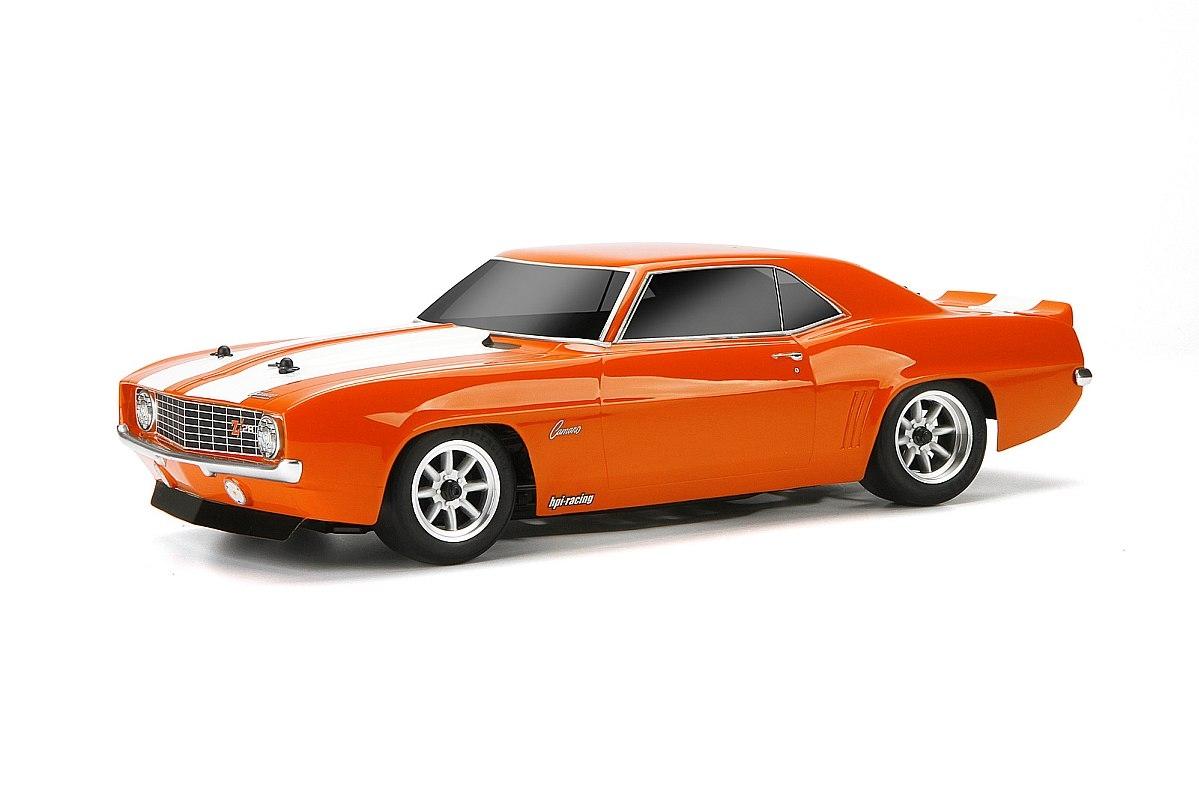Náhľad produktu - Karoséria číra Chevrolet Camaro 1969 Z28R (200mm)