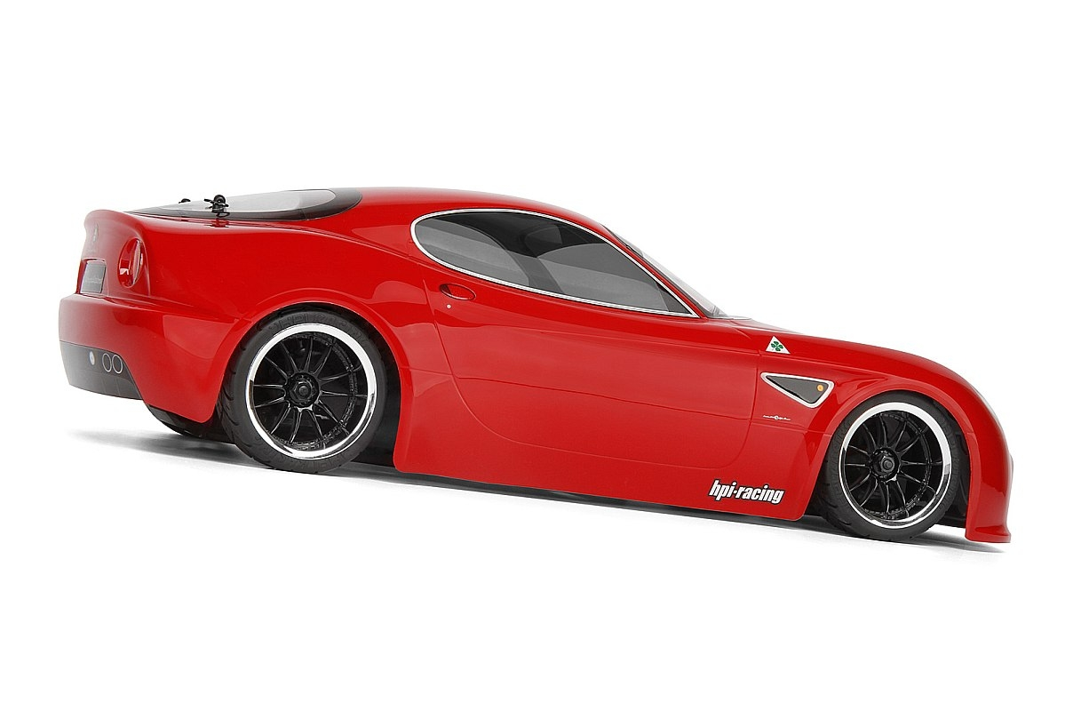 Náhľad produktu - Karoséria číra Alfa Romeo 8C Competizione (200 mm)