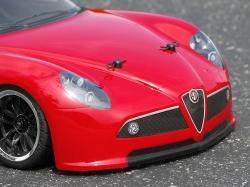 Karoséria číra Alfa Romeo 8C Competizione (200 mm)