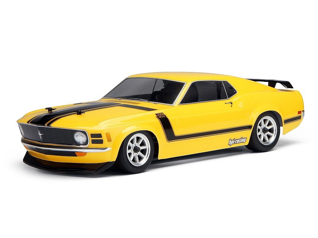 Náhľad produktu - Karoséria číra 1970 Ford Mustang Boss 302 (200 mm)