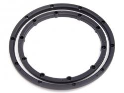 Lock ring wheels, two wheels, black 2pcs