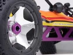 Poistný krúžok kolesa, pre dva disky, čierny 2 ks